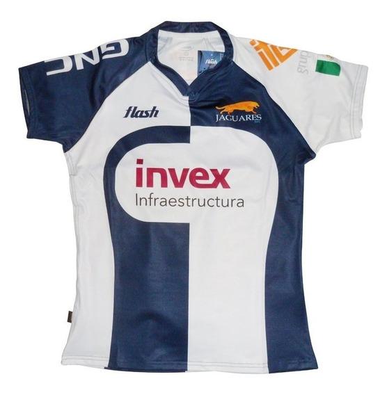Camiseta De Rugby Flash Jaguares