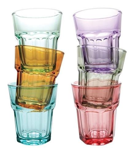 Imagem 1 de 7 de Jogo Com 12 Copo Vidro Tequila Shot Dose Whisky Cachaça
