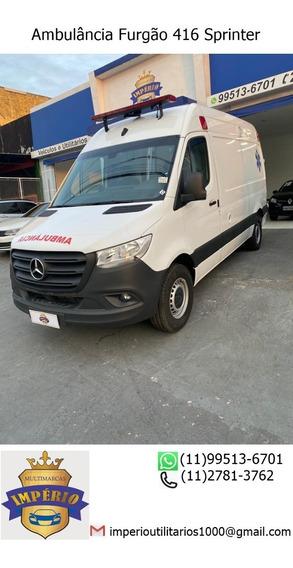 Ambulância Furgão 416 Sprinter 2020/21