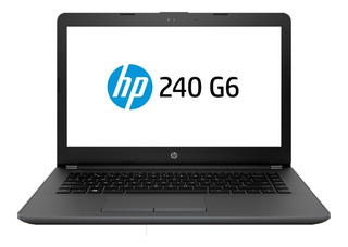 Laptop Hp 240 G6 Core I3 6006u 4gb 500gb W10 1la97elife2t 14