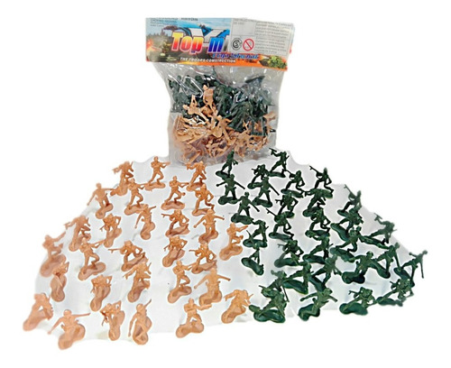 Soldaditos De Plástico X60 Unidades