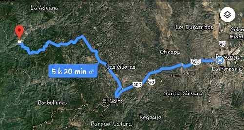 Terreno Campestre En Venta Poblado De San Dimas Durango