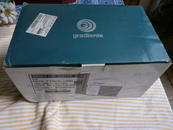Gradiente Bx-i500 (ibox 9w Rms) - Amp Som iPhone, Tablets