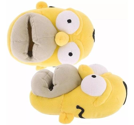 Pantuflas Chicos Dama Hombre De Homero Simpson Casa David