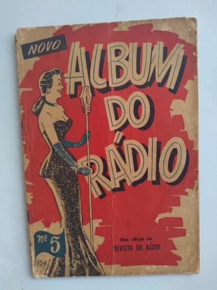 Revista Álbum Do Rádio - 1954 Número 5 -