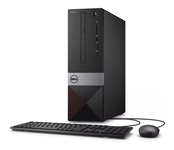 Desktop Dell Vostro 3470 I3-8100 4gb Ram 1tb Hd + Nf + Novo