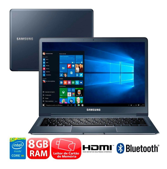 Notebook Samsung Style S40 Core M 8gb 256ssd Nota Fiscal