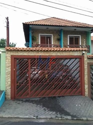 Imagem 1 de 10 de Ref 11.807 Lindo Sobrado Com 125 M² 3 Dorms (sendo 1 Suíte) , 4 Vagas , Lazer Com Churrasqueira, Forno A Lenha E Pia - Bairro: Jaguaribe. - 11807