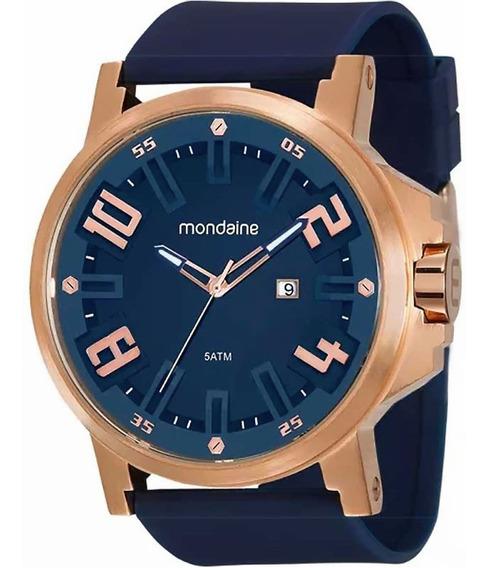 Relógio Masculino Mondaine 99233gpmvri5 Borracha