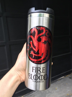 Termo Cilindrico Game Of Thrones Targaryen
