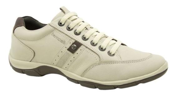 Sapato Masculino Sapatenis Ferricelli Azera Couro Zr42530