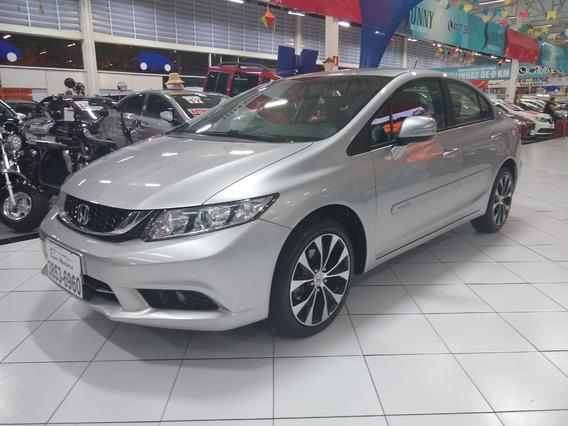 Honda Civic 2.0 Lxr Rd 17 2016 U.dono Troco Financio S/entr