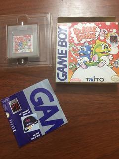 Juego Bubble Bobble Game Boy De Colección ! Ntdf