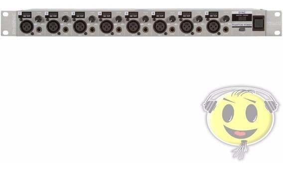 Pré Amplificador Microf Phonic Ada 8 Firefly 8000 - Loja