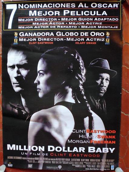 Poster Original Cine Million Dollar Baby Año 2004 100x70