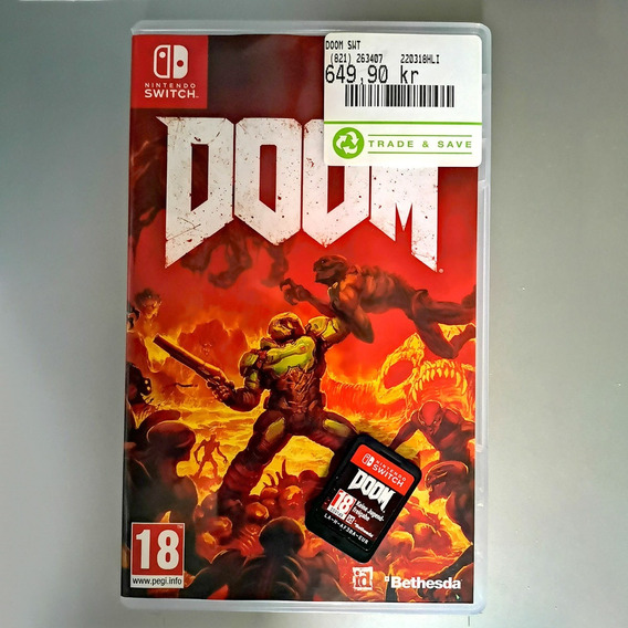 Jogo Doom - Nintendo Switch