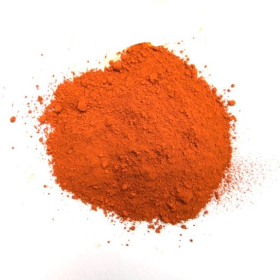 Hierro Pigmento De Óxido De Color Naranja 500 G De Cemento