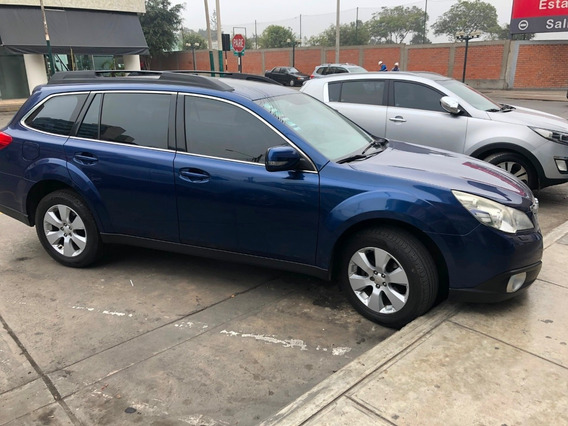 Subaru Outback 2010 Version Limited Azul Suv 4x4