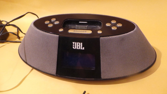 Jbl On Time 200p Am/fm Rádio Speaker Dock For iPod/iPhone