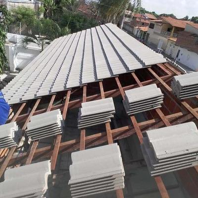 Telhas De Concreto, Madeira,execução De Produtos Em Madeira