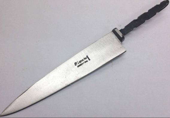 Hoja Para Encabar Cuchillos Acero Solingen Lapacho Mangrullo