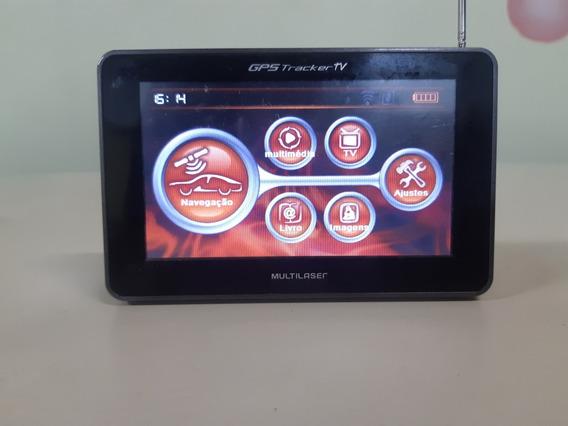 Gps Multilaser Tracker Com Tv Digital Fm Sem Acessórios