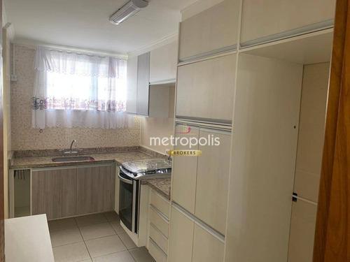 Apartamento Com 2 Dormitórios À Venda, 50 M² Por R$ 320.000,00 - São José - São Caetano Do Sul/sp - Ap6548
