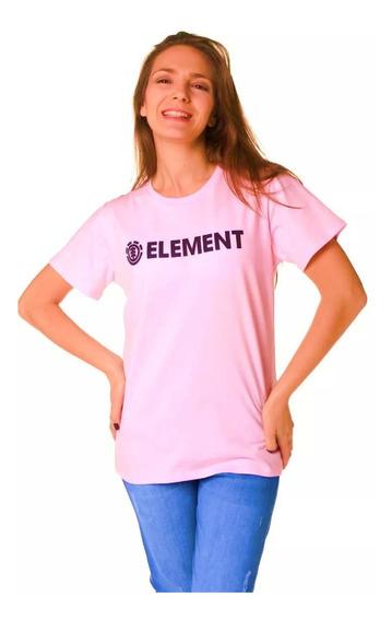 Remera Mujer Element Logo Tee Jeremele C44