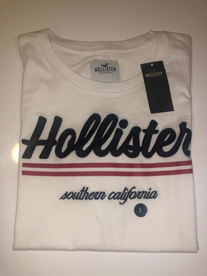 Remera Hollister Talle L.