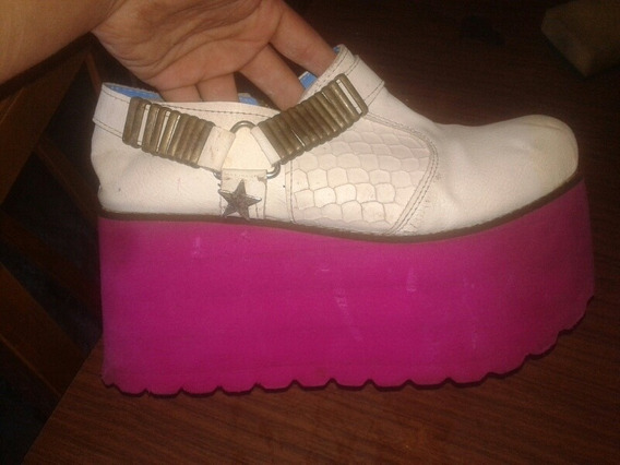 Zapatos Con Plataforma Talle 37