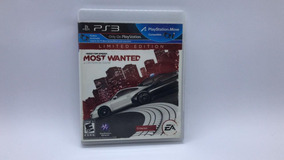 Need For Speed Most Wanted Limited Edition - Ps3 Cd Original
