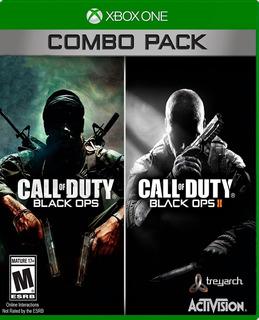Call Of Duty Blackops 1 Y 2 Xbox One / 360 Nuevo