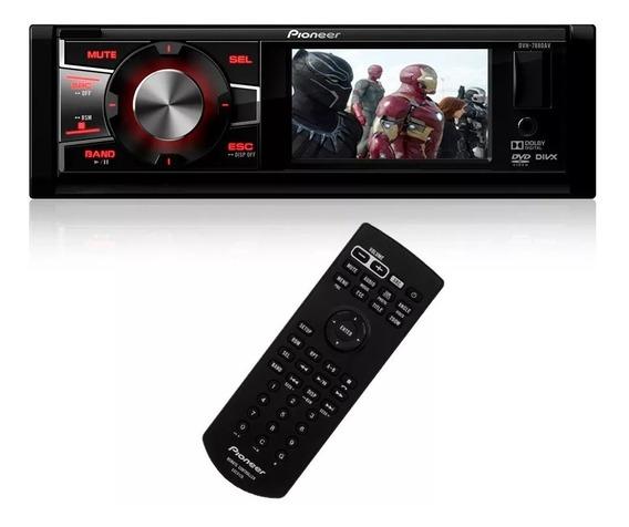Dvd Player Pioneer Dvh 7880av Tela 3 Usb Mp3 Radio Am Fm Som