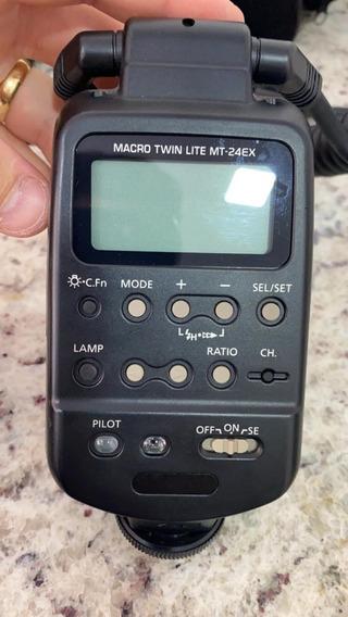 Camera Canon T5i Eos Rebel Flash Twin Lite Mt 24 Ex Lent