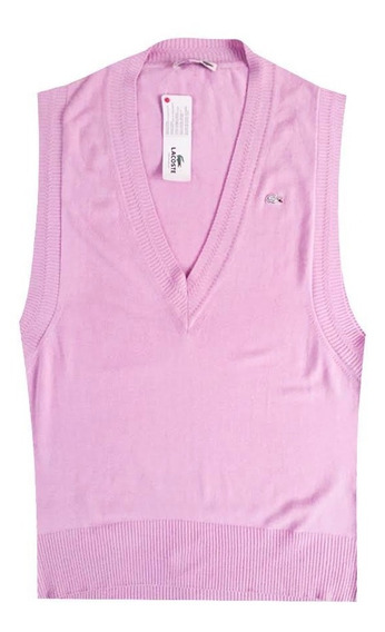Chaleco, Lacoste, Mujer, Hilo, Lila Af0522