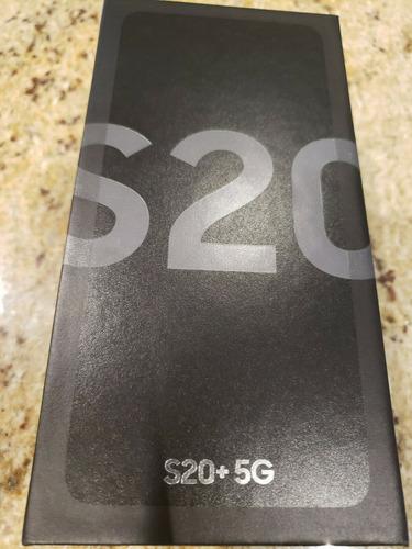 Nuevo Samsung Galaxy S20 + Plus 5g 12gb Negro