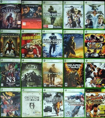 19 Jogos De Xbox 360 Midia Digital