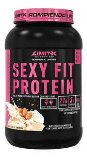 Proteina Limitx Sexy Fit 3 Lbs Colageno Acido Folico Sexyfit