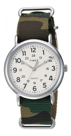 Reloj Timex Weekender Unisex 40mm Correa Militar