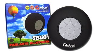 Parlante Bluetooth A Prueba De Agua Global Sbl01 Alpha S.i