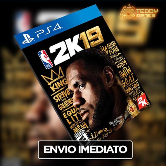 Nba 2k19 - Ps4 - Online Original 1 - Envio Imediato!