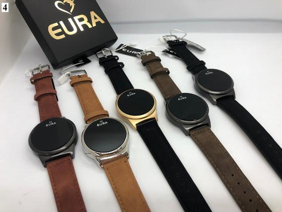 20 Relógios Eura Digital Touch + Caixinha + Atacado +revenda