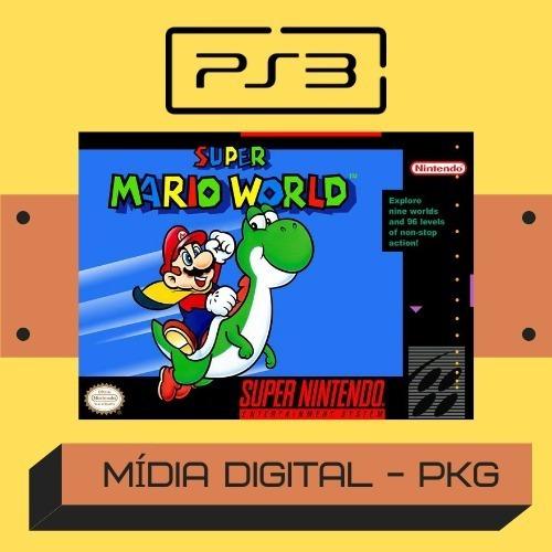 Super Mario World / Ps3 Desbloqueado - Pkg