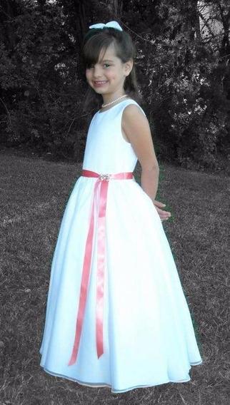 *rosaritos* Vestido Comunión,cortejo,bautismo.envío Gratis!!