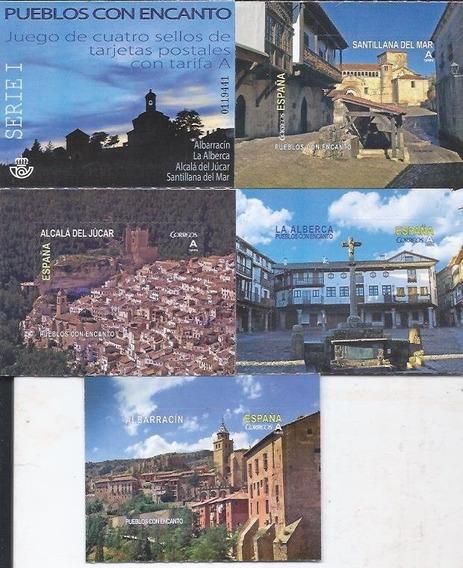 Sellos De España 2016. Pueblos Con Encanto