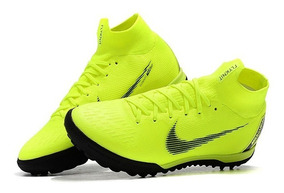 Chuteira Nike Superflyx 6 Elite Society Verde Limão Original