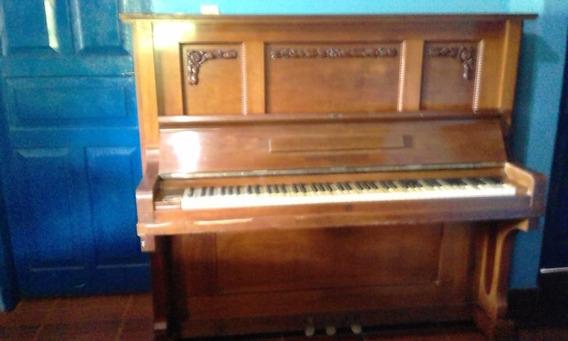 Piano Antigo Alemão Gebr.zimmermam Leipzig 85 Teclas Marfim