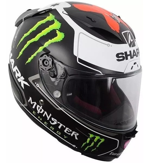 Casco Shark Integral Race R Pro Lorenzo Monster Matt Black