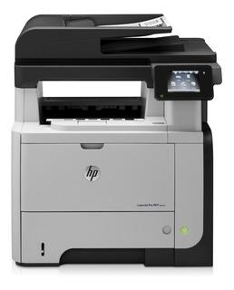 Impresora Mfp Hp M521dn Laser Escaner Duplex Red Fax M521 Mg