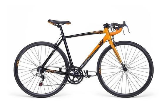 Bicicleta Ruta/carrera De Aluminio 700c Renzzo 14 Veloc Nva